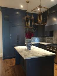 Navy Blue Kitchen Cabinets Painted Benjamin Moore Hale Navy - Navy kitchen cabinets