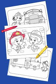 fire truck heroes printable coloring pack nickelodeon parents