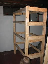 Woodworking Storage Shelf Plans by 24 Building 2x4 Shelves Building Storage Shelves In A Shed