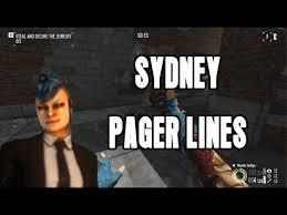 Pager Meme - payday 2 sydney pager answers new character youtube