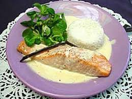 cuisiner pavé de saumon au four recette pavé de saumon et sa crème vanille 750g