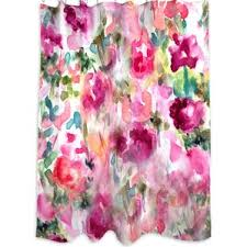 Pink And Purple Curtains Pink Shower Curtains You U0027ll Love