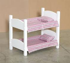 Doll Bunk Bed Plans Doll Bed Dolls Bed Without Sheets Painted White Doll Bed Mattress