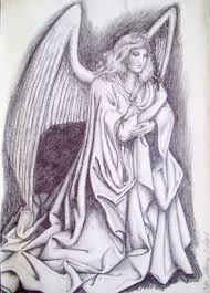 best pencil drawings of angel pencil drawings of anime angels