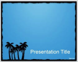 palms powerpoint templates