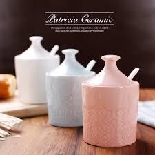 ceramic engraving ceramic bone china caster salt sugar pot set 3 pcs with