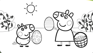 coloring pages peppa pig peppa pig coloring pages archives