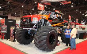 monster truck bigfoot video bigfoot goes electric with odyssey batteries truck trend news