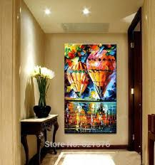 painted big size modern wall picture home decor air