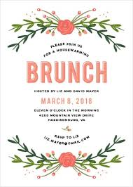 brunch party invitations general party party events