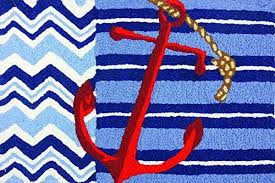 indoor outdoor rugs with anchors amazon com