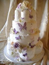 Butterfly Wedding Cake With A Different Topper I Would Love It