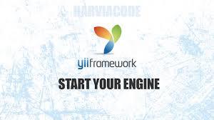 membuat web yii gii yii code generator harviacode