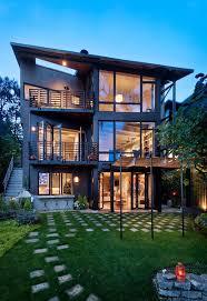 Roof Trellis Contemporary Balcony Exterior Contemporary With Metal Beams