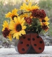 Sunflower Home Decor Silk Sunflower Arrangements Foter