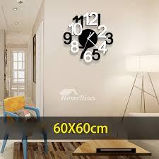 living room wall clock wall clocks office 23 6 19 7 inch modern acrylic novelty