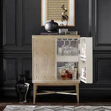 west elm bar cabinet bar carts sideboards buffets williams sonoma