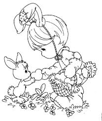easter free precious momenbts coloring pages 108206 precious