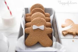 veggieful vegan gingerbread men cookies recipe