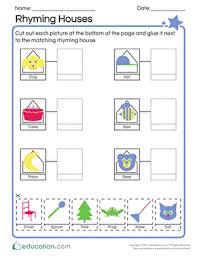 rhyming worksheets u0026 free printables education com