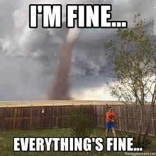 Everything Is Fine Meme - i m fine everything s fine i m fine everything s fine