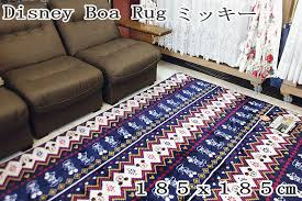 Mickey Mouse Rugs Carpets Soei Rakuten Global Market Disneyboalag Mickey Rare Only Size