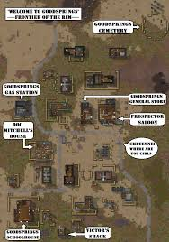 New Vegas Map Fallout New Vegas Meets Rimworld Goodsprings Fallout