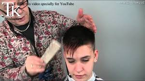 youtube young boys getting haircuts a boys hairstyle with feminine touch for nina by t k youtube