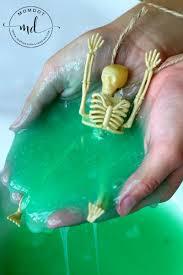 ectoplasm slime halloween slime momdot