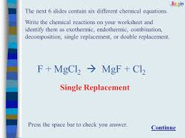 this presentation provides the chemistry student with several