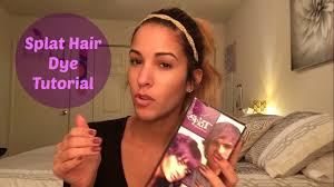 how to get splat hair dye out of hair hairstyle maxresdefault splat hair dye reviewsue tips for