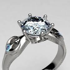 wars wedding rings rebel alliance wars engagement ring in palladium white
