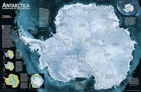 Map Of Antarctica Satellite Map Of Antarctica Antarctica U2014 Planetolog Com