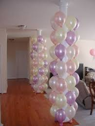 Pink Balloon Decoration Ideas Large 86cm Helium Filled Foil Number And Letters Per Balloon
