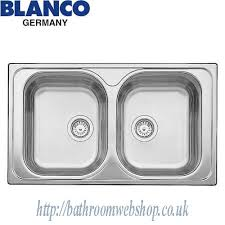 Steel Kitchen Sinks BLANCO Tipo  Compact C Stainless Steel - Compact kitchen sinks stainless steel