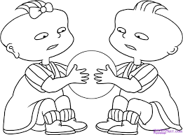 rugrats coloring pages tommy from rugrats coloring pages