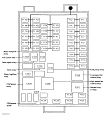 2003 ford windstar interior fuse box diagram 2003 ford windstar