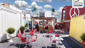 shipping container restaurant cost youtube