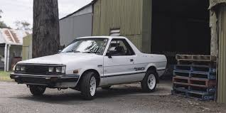 subaru brat the mighty brumby loaded 4x4