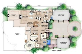 mediterranean house plans with pool 5 mediterranean house floor plans pool mediterranean style house