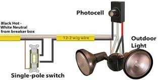 Motion Sensor Add On For Outdoor Light How To Add A Photocell To An Outdoor Light 38174 Astonbkk