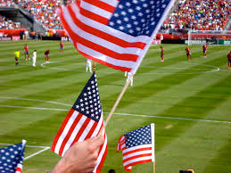 Flags Us American Flags Us Soccer Fans Waiving American Flags Befor U2026 Flickr