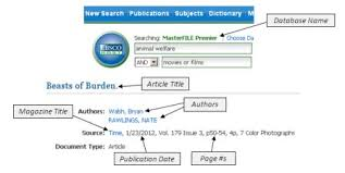 interpreting citations citing sources research guides at j