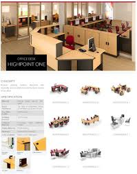 Office Furniture Brochure by Highpoint Office Desk One 1 The Best Furniture Office