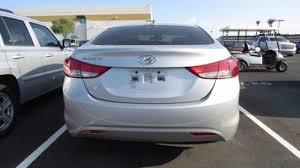 2012 Hyundai Elantra Interior White Hyundai Elantra In Phoenix Az For Sale Used Cars On