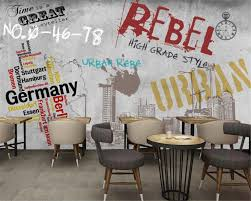 popular concrete wallpaper buy cheap concrete wallpaper lots from beibehang custom 3d wallpaper big murals street graffiti in europe and america concrete walls bars ktv