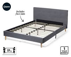 fabric bed frame u2013 queen aldi u2014 australia specials archive