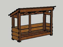 Free Firewood Shelter Plans by Topic Cord Wood Shed Plans Shed Cam