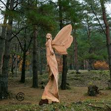 best wood sculptures i create detailed wooden sculptures carving them with a chainsaw