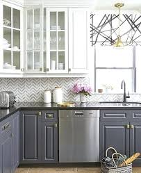 Gray Kitchen Cabinets Benjamin Moore by Dark Grey Kitchen Cabinets With White Appliances Light Gray
